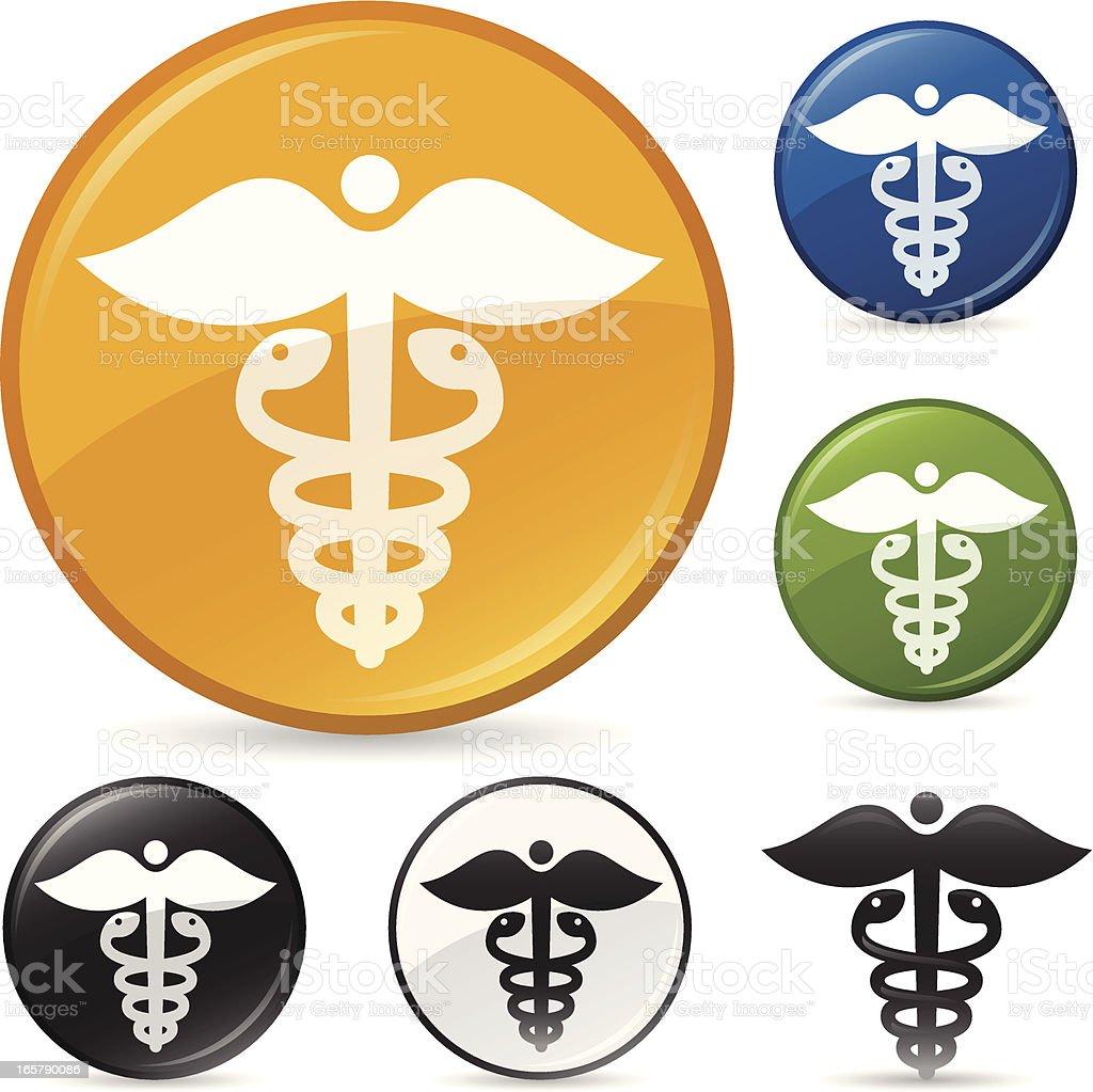Health and Medicine Symbol vector art illustration