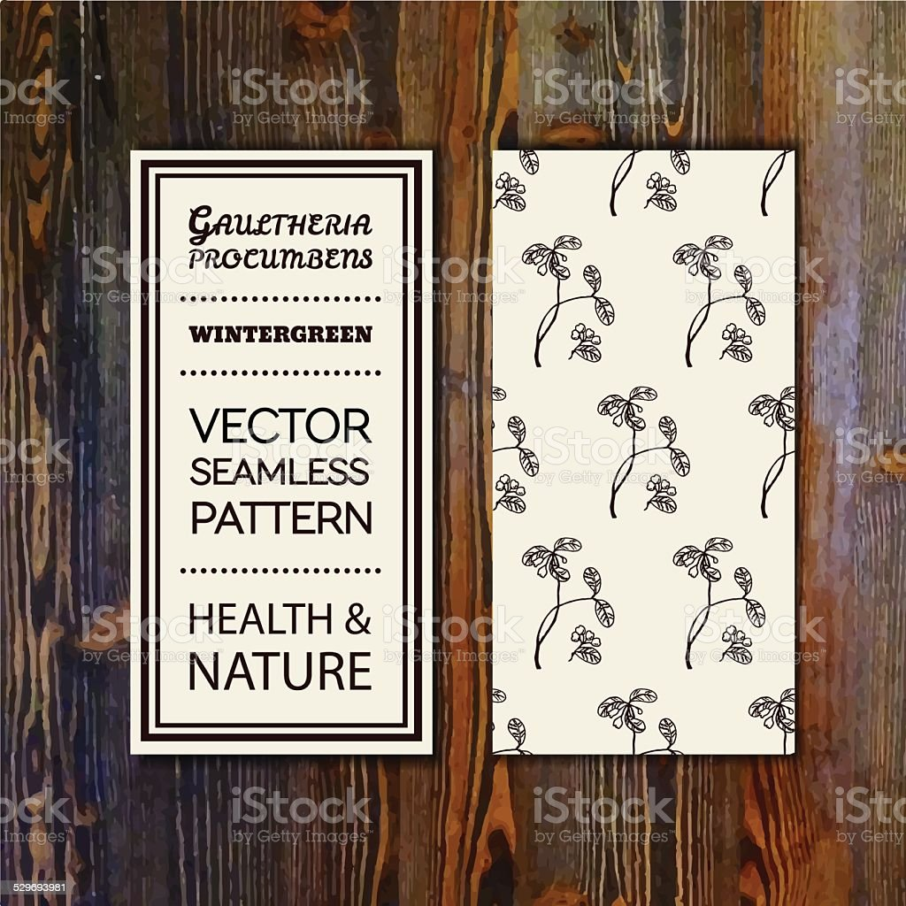 Health and Nature Collection vector art illustration