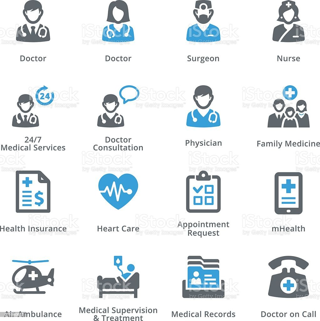 Health Conditions & Diseases Icons - Sympa Series vector art illustration