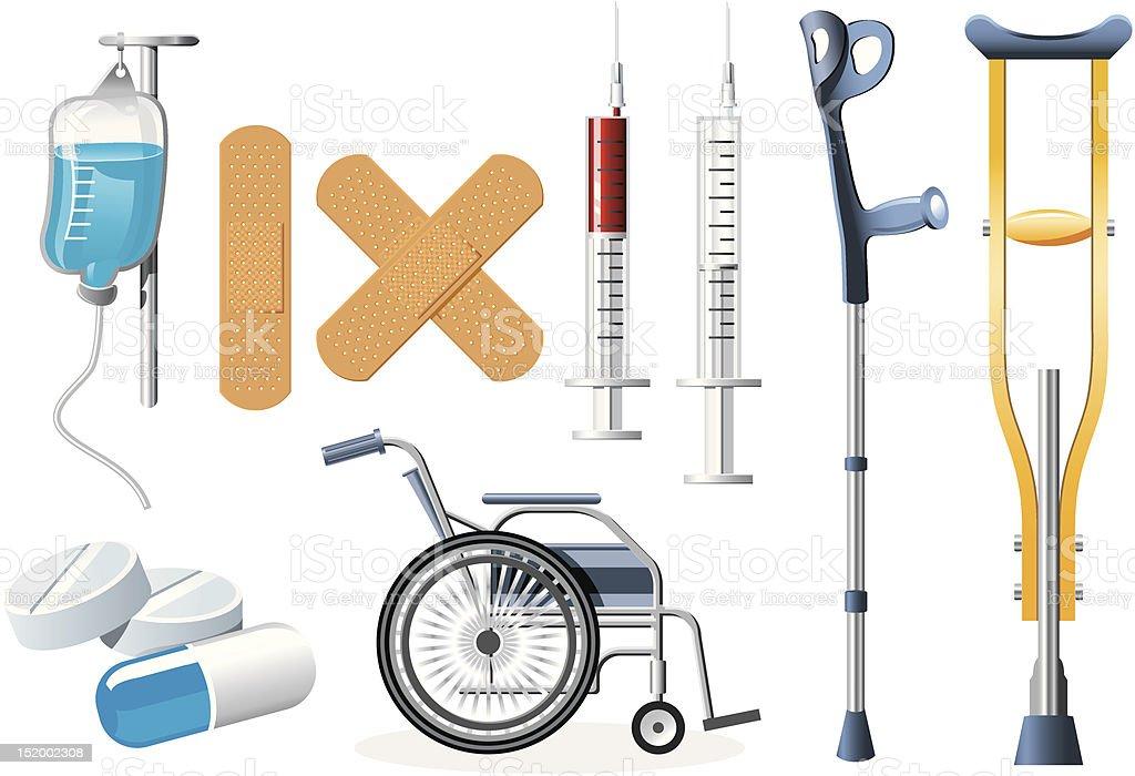Health Icons royalty-free stock vector art