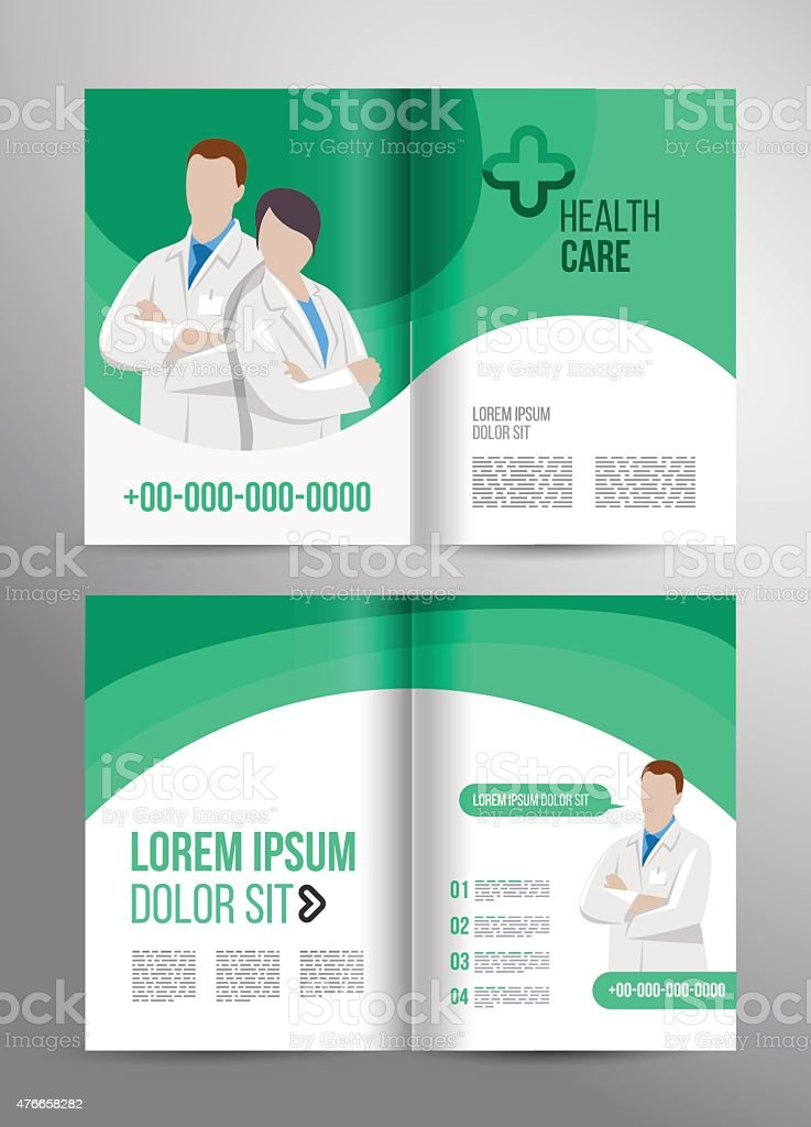 Healthcare Brochure Stock Vector Art   Istock