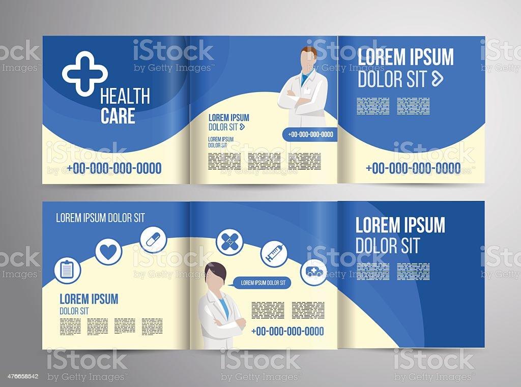 Healthcare Brochure stock vector art 476658542 – Healthcare Brochure