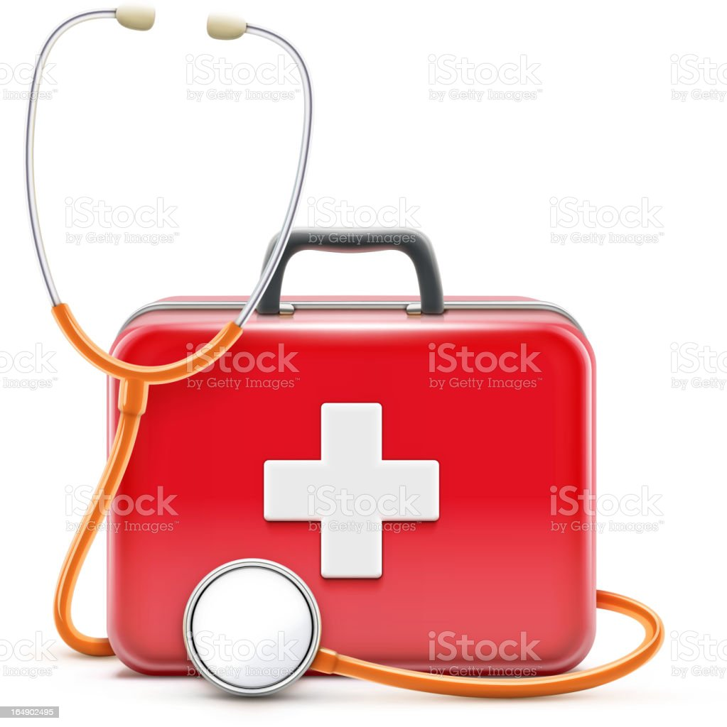Healthcare concept royalty-free stock vector art
