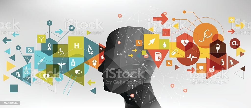 Healthcare idea vector art illustration