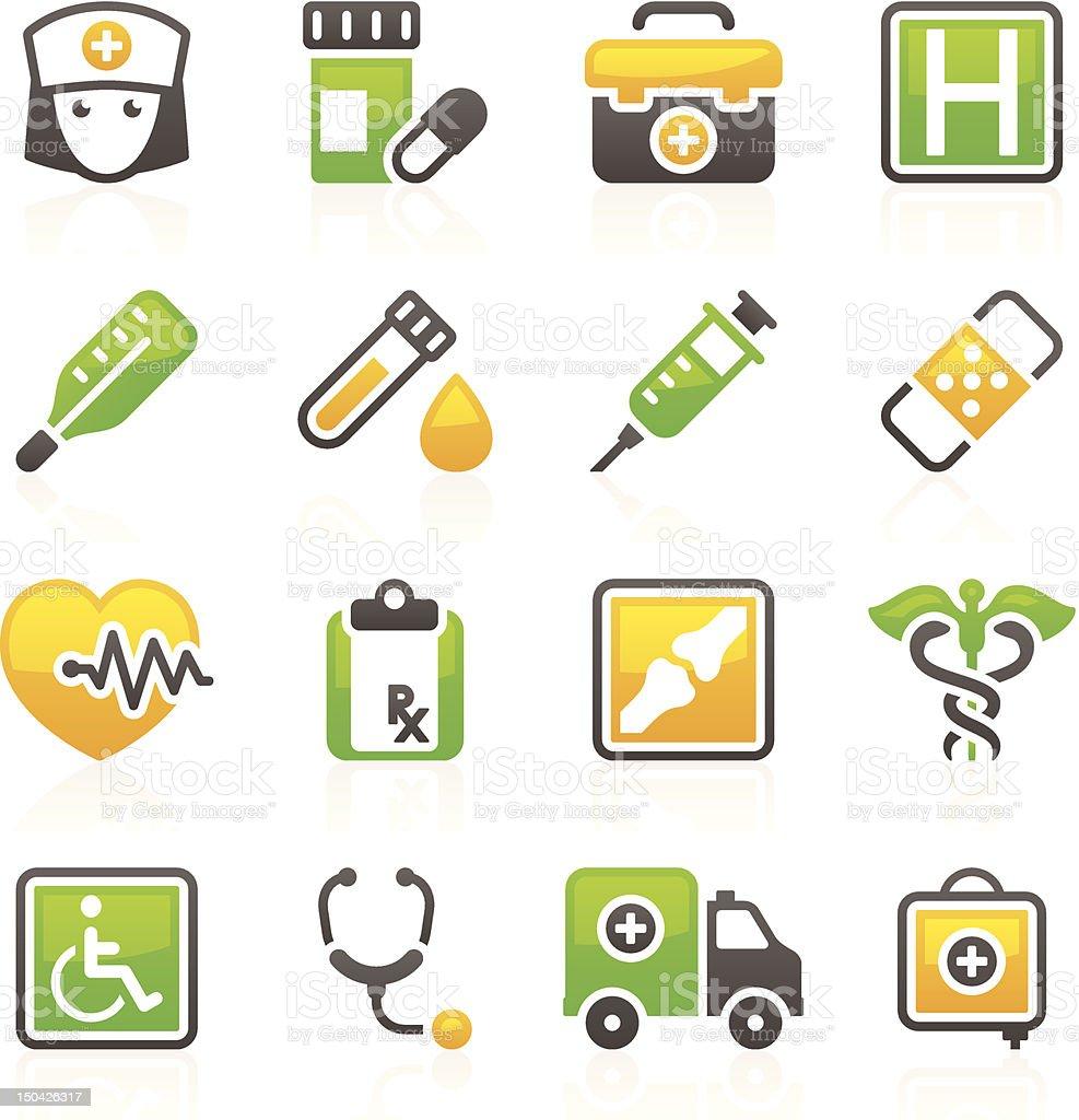 Healthcare & Medicine_Flory series_4 royalty-free stock vector art