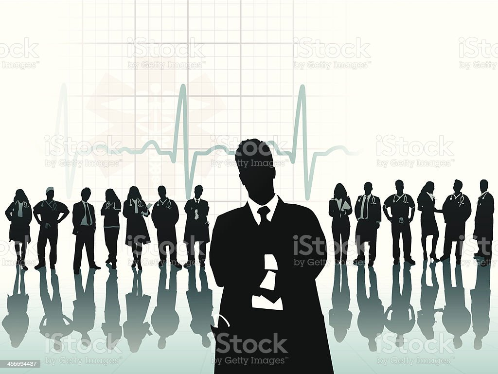 Healthcare Professional royalty-free stock vector art