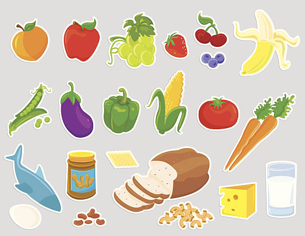 Cheese And Crackers Clip Art, Vector Images