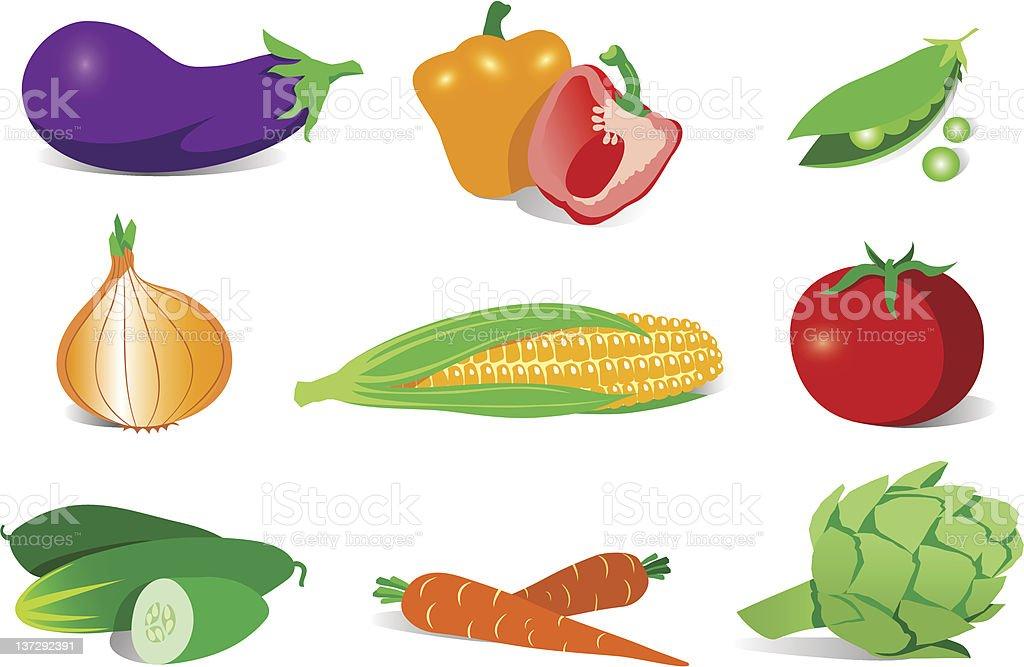 Healthy food. royalty-free stock vector art