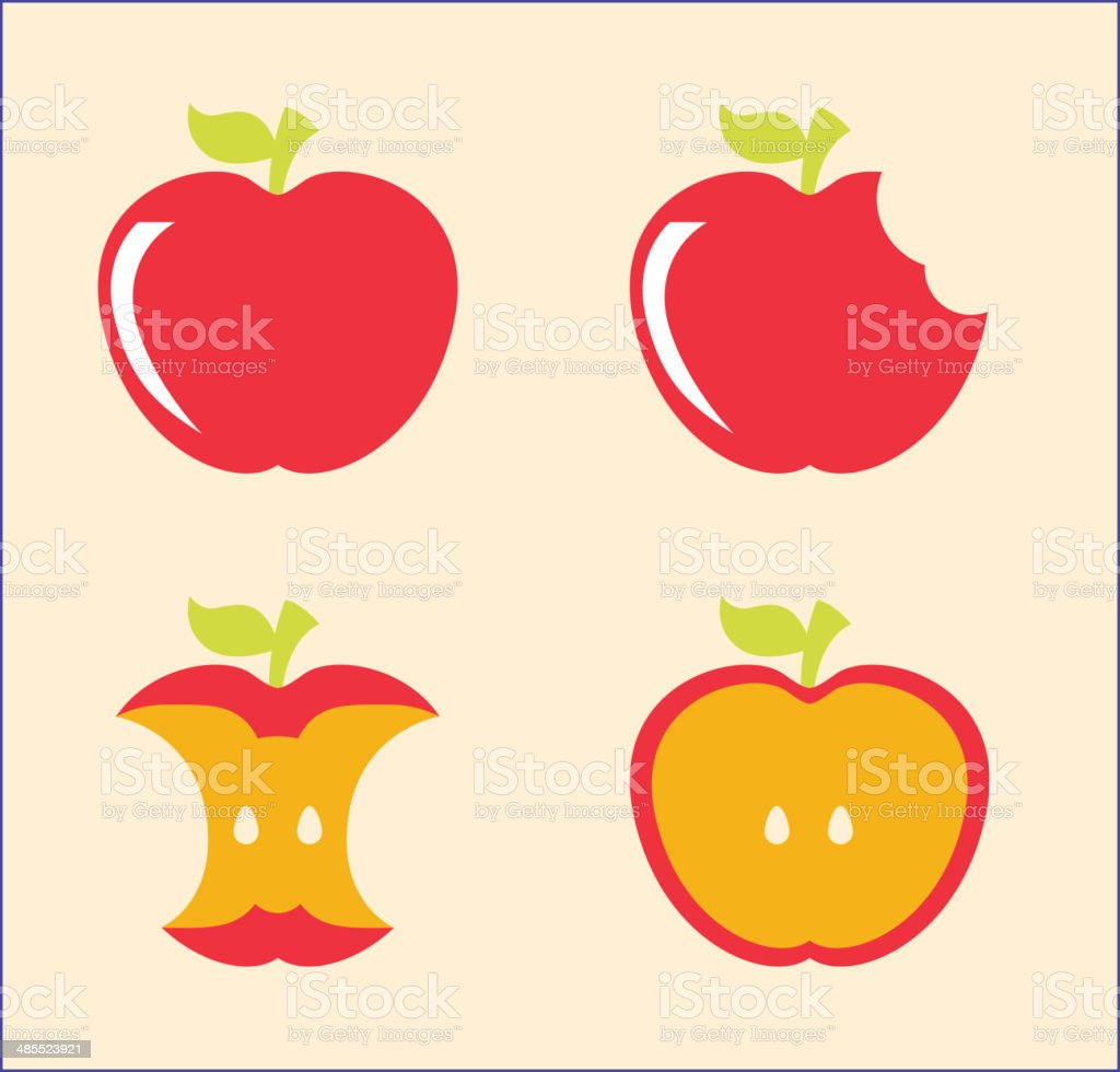 healthy food royalty-free stock vector art