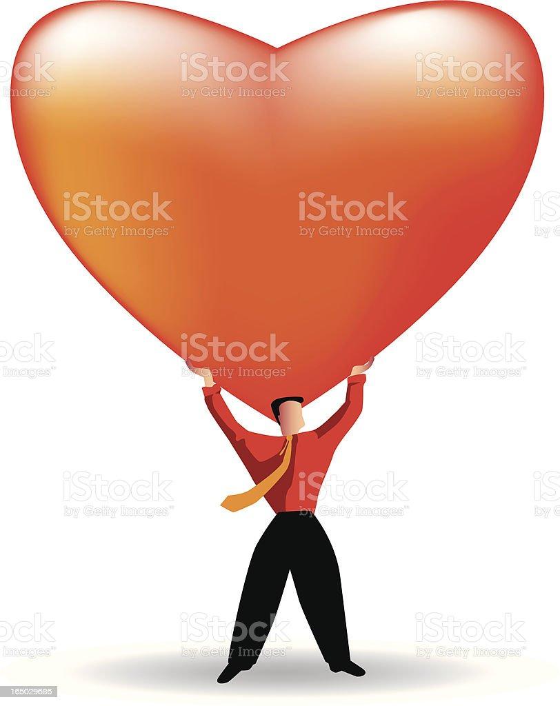 healthy love royalty-free stock vector art