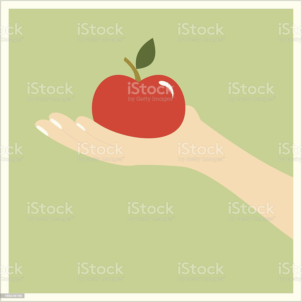 Healthy Meal royalty-free stock vector art