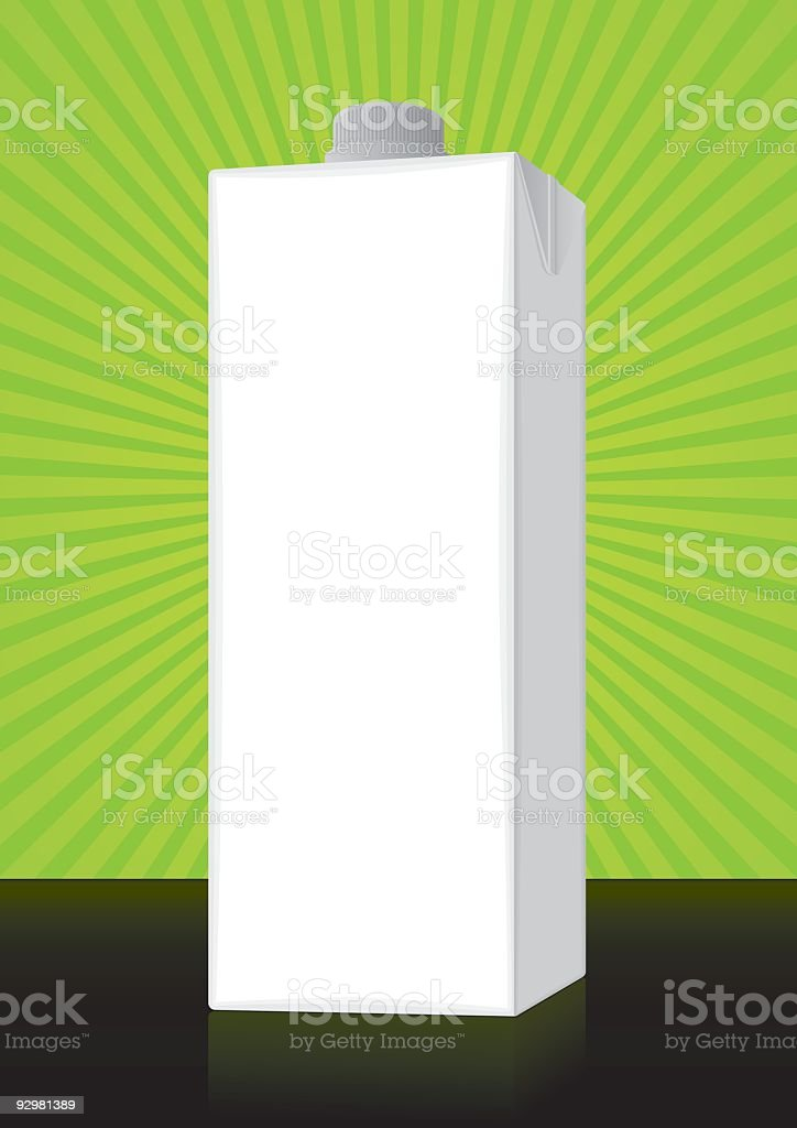 Healthy Package royalty-free stock vector art