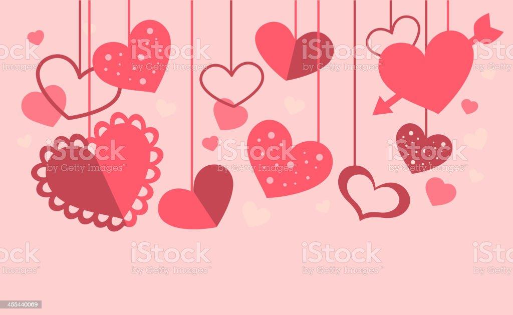 Heart decoration royalty-free stock vector art