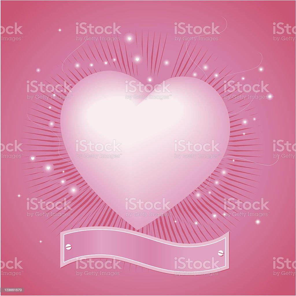 Heart Emblem royalty-free stock vector art