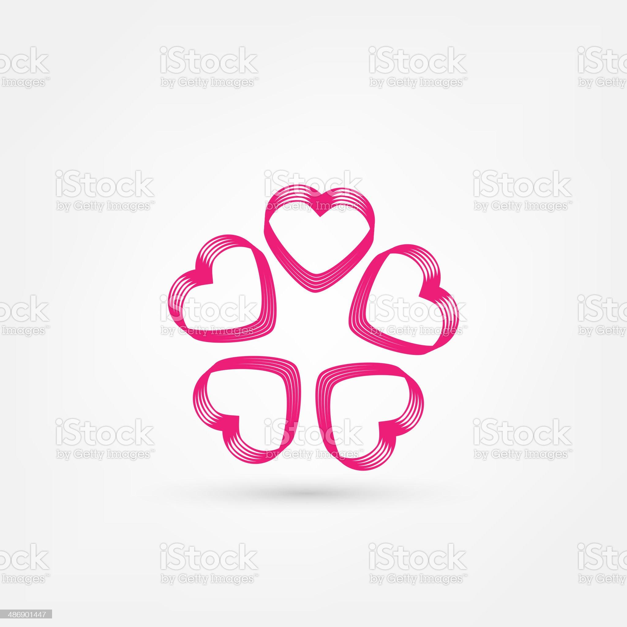 heart icon royalty-free stock vector art