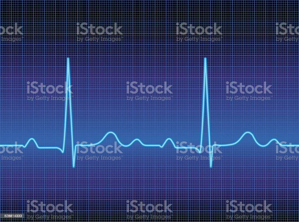 Heart Monitor vector art illustration