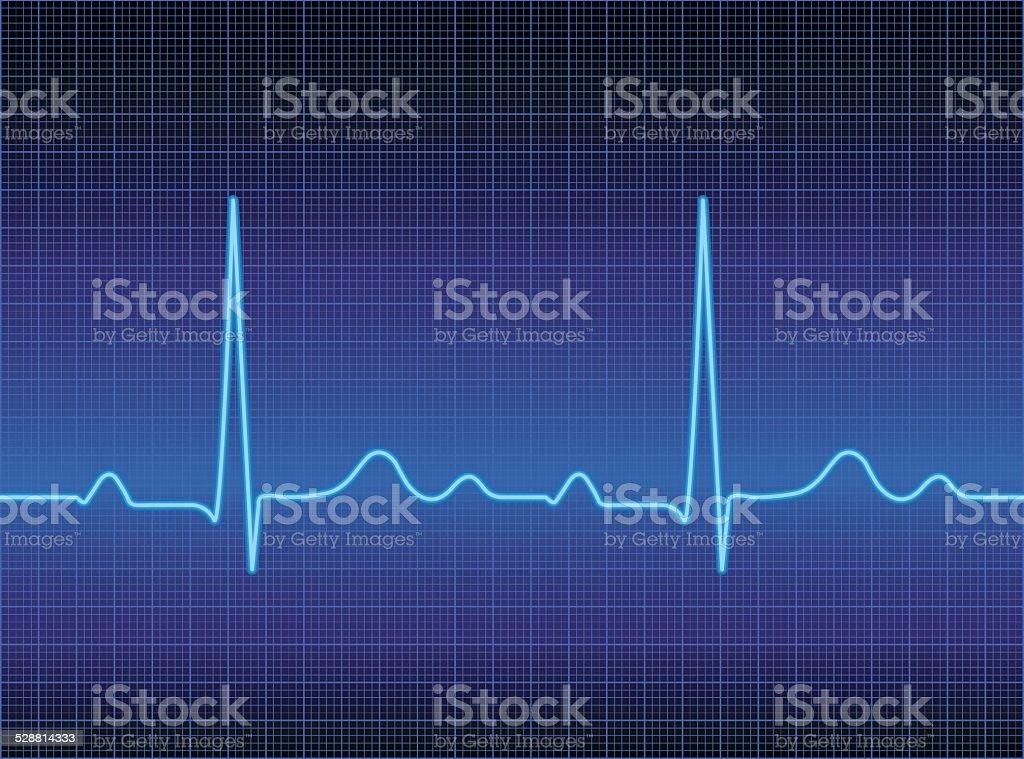 Heart Monitor vector art illustration