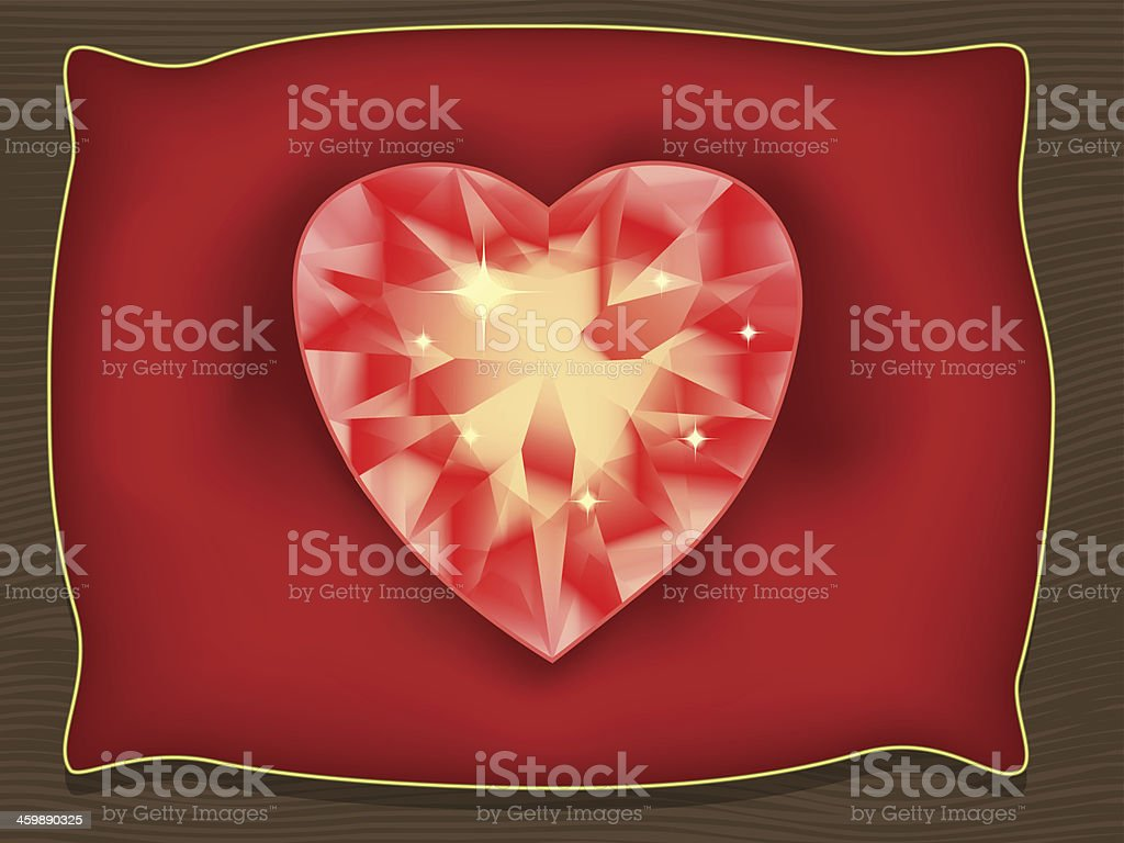 Heart of Valentine royalty-free stock vector art