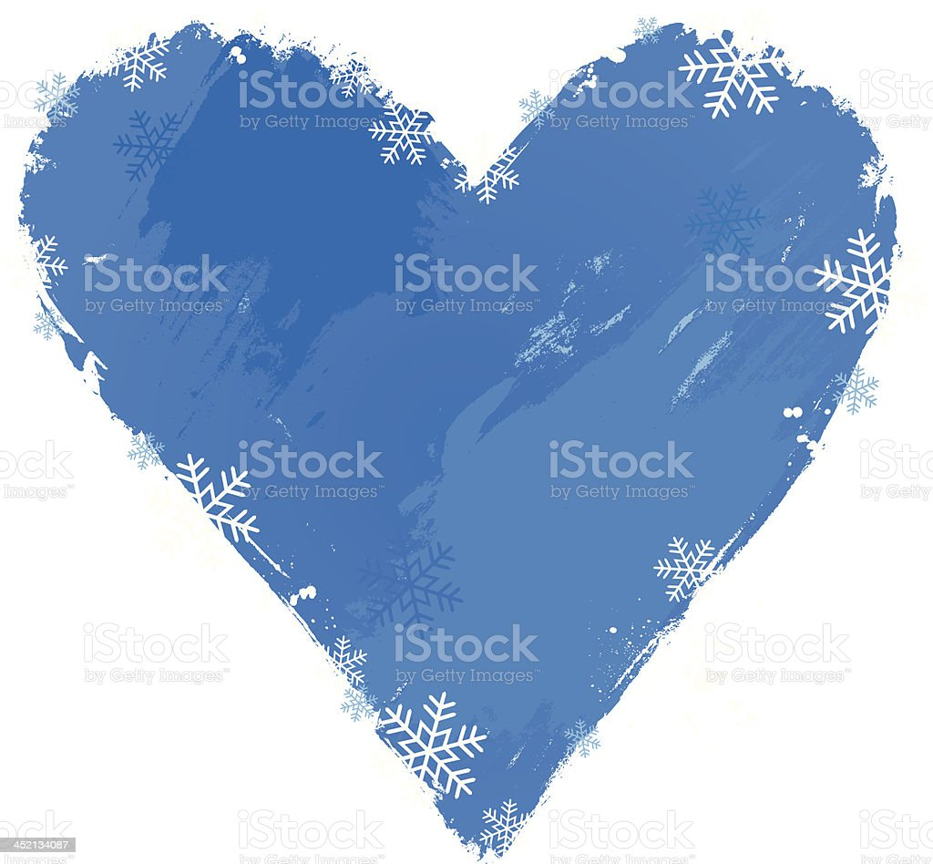 Heart of winter royalty-free stock vector art