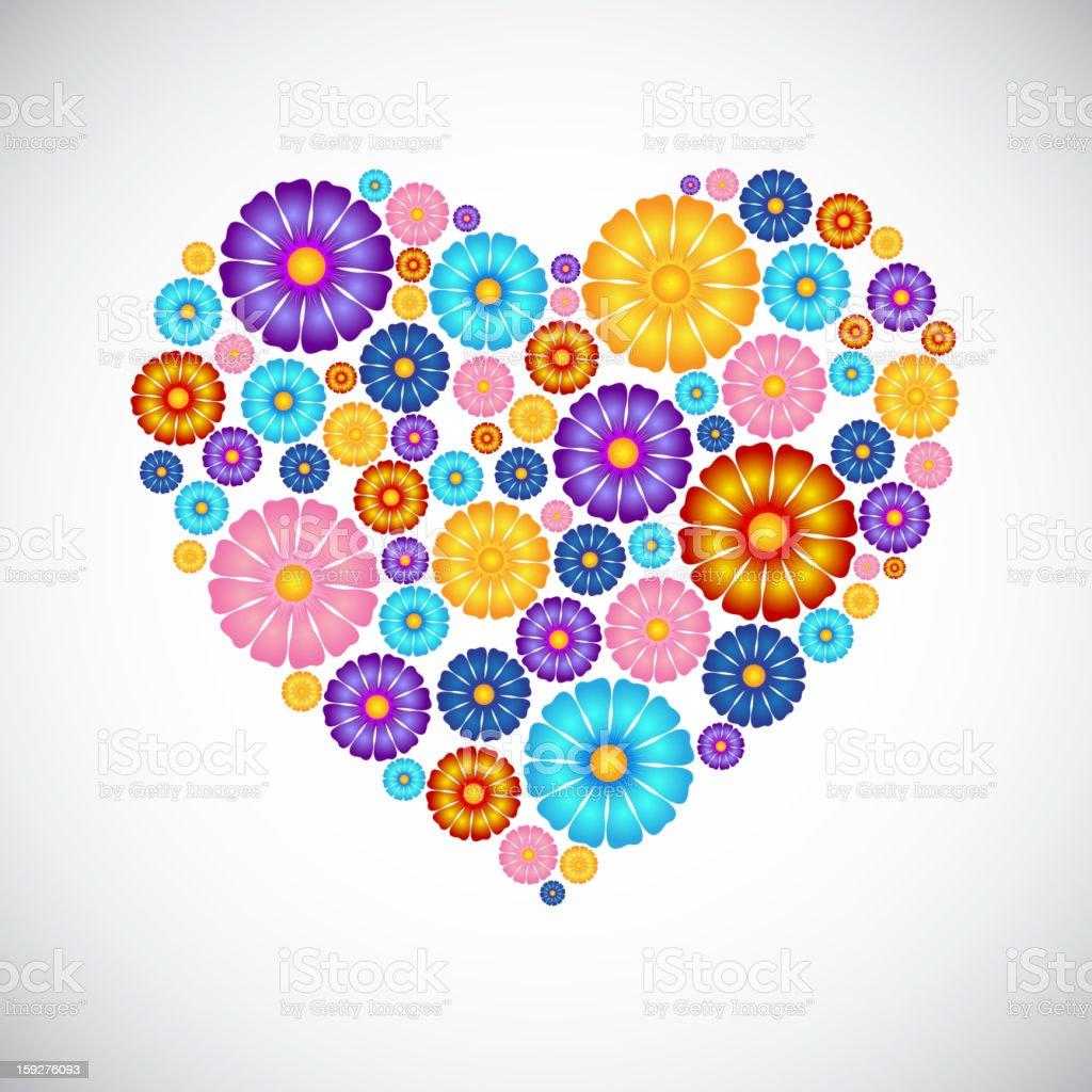 Heart shape royalty-free stock vector art