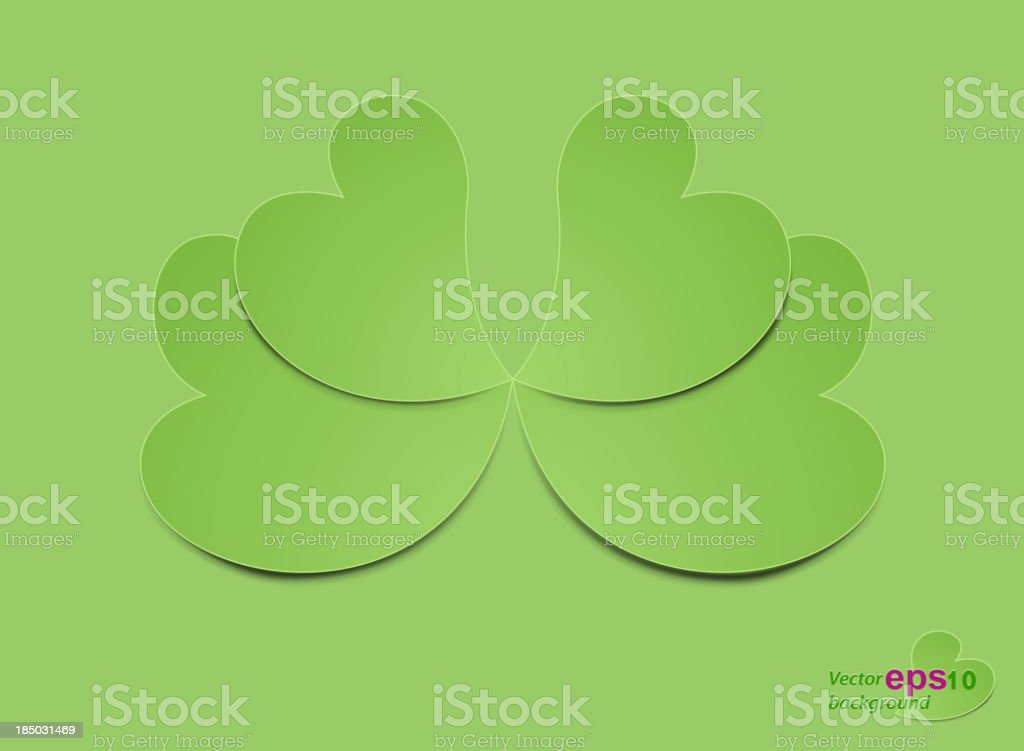 Heart shaped royalty-free stock vector art