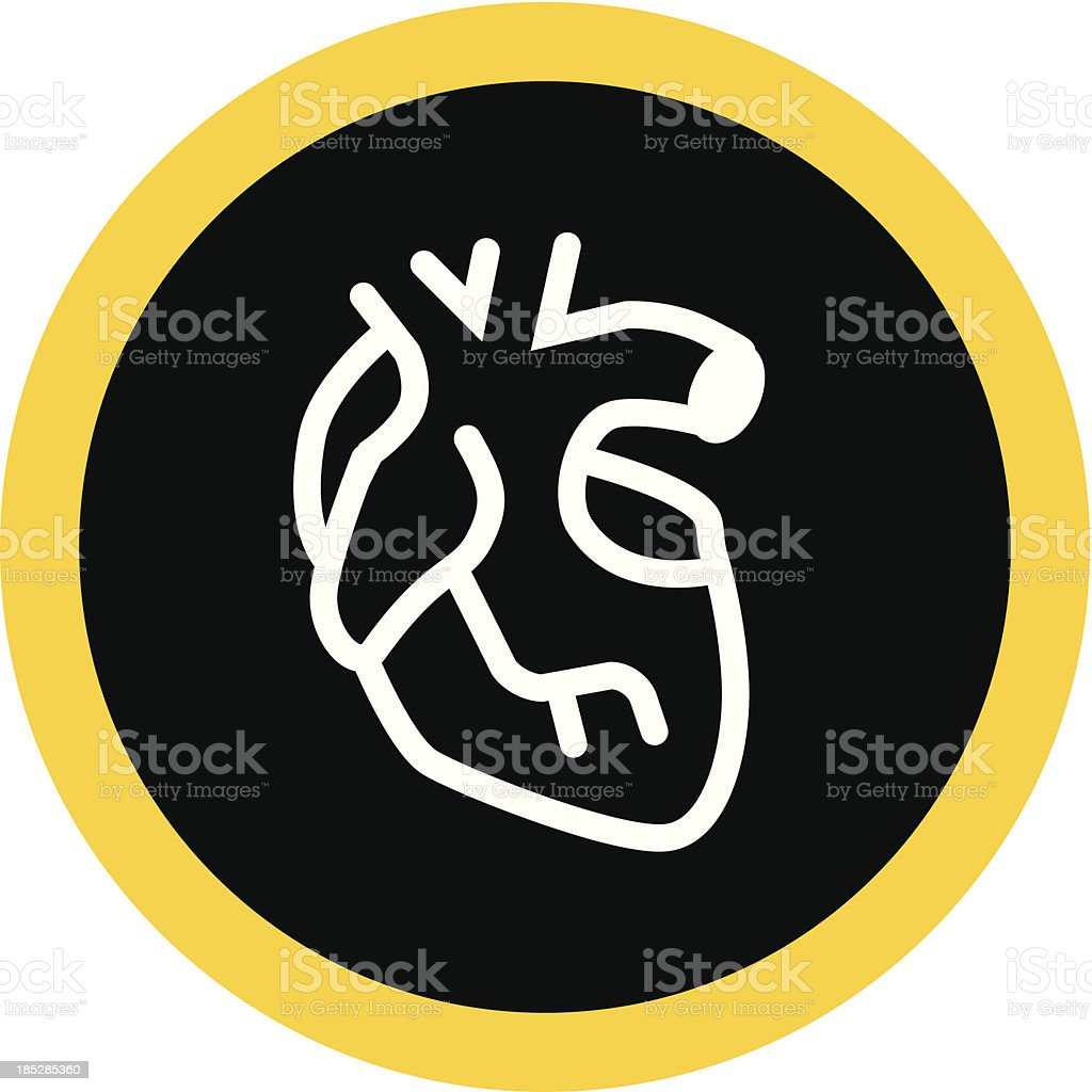Heart royalty-free stock vector art