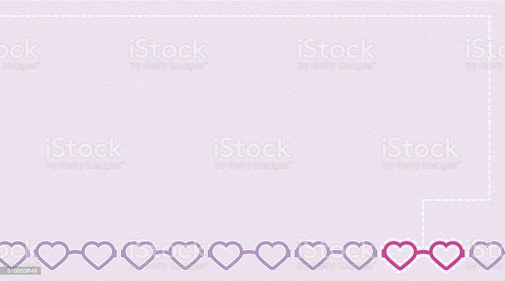 Heart-Shaped Glasses Background vector art illustration