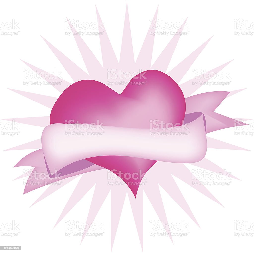 Hearty heart royalty-free stock vector art
