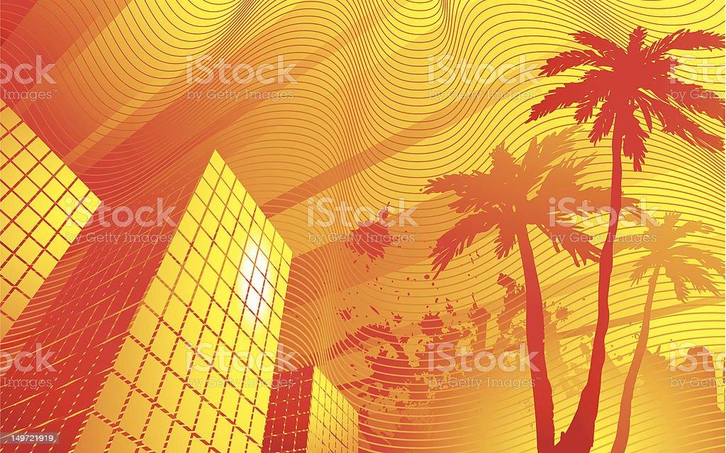 Heat vector art illustration