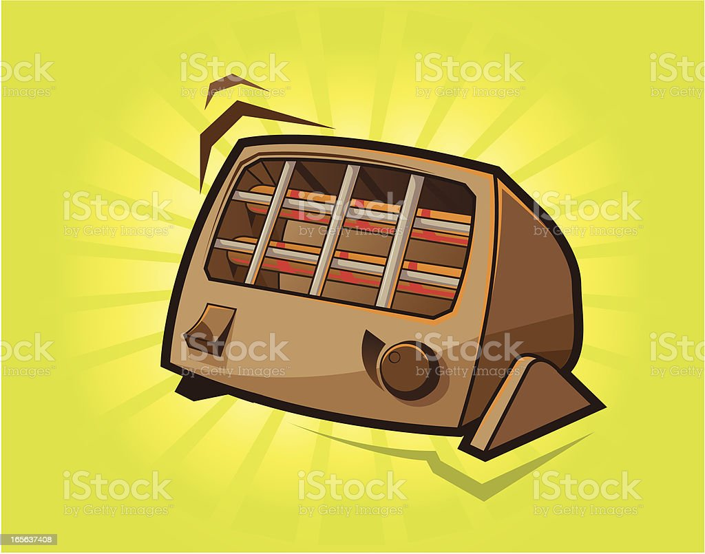 heater vector art illustration