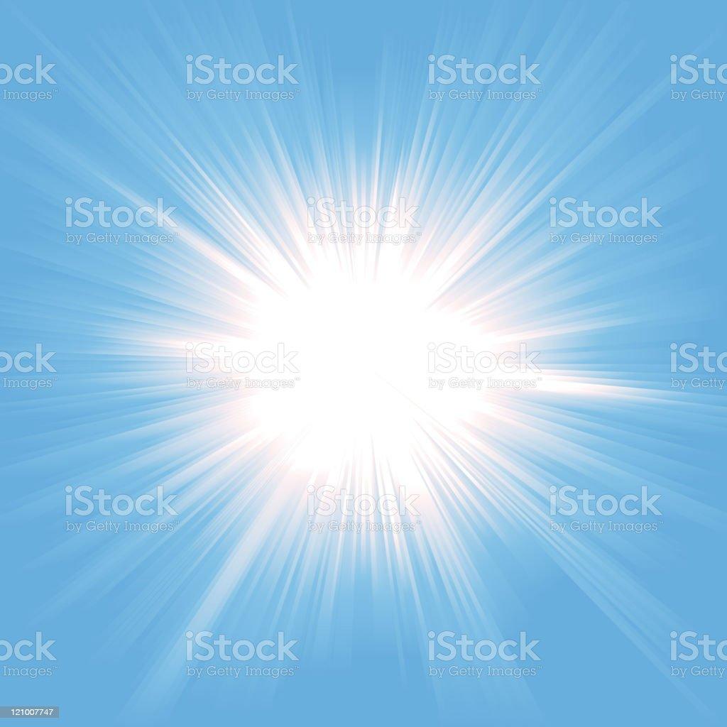 Heaven Light Starburst royalty-free stock vector art