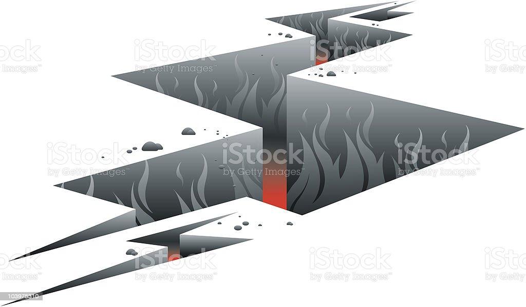 Hell vector art illustration