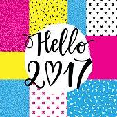 Hello 2017 phrase