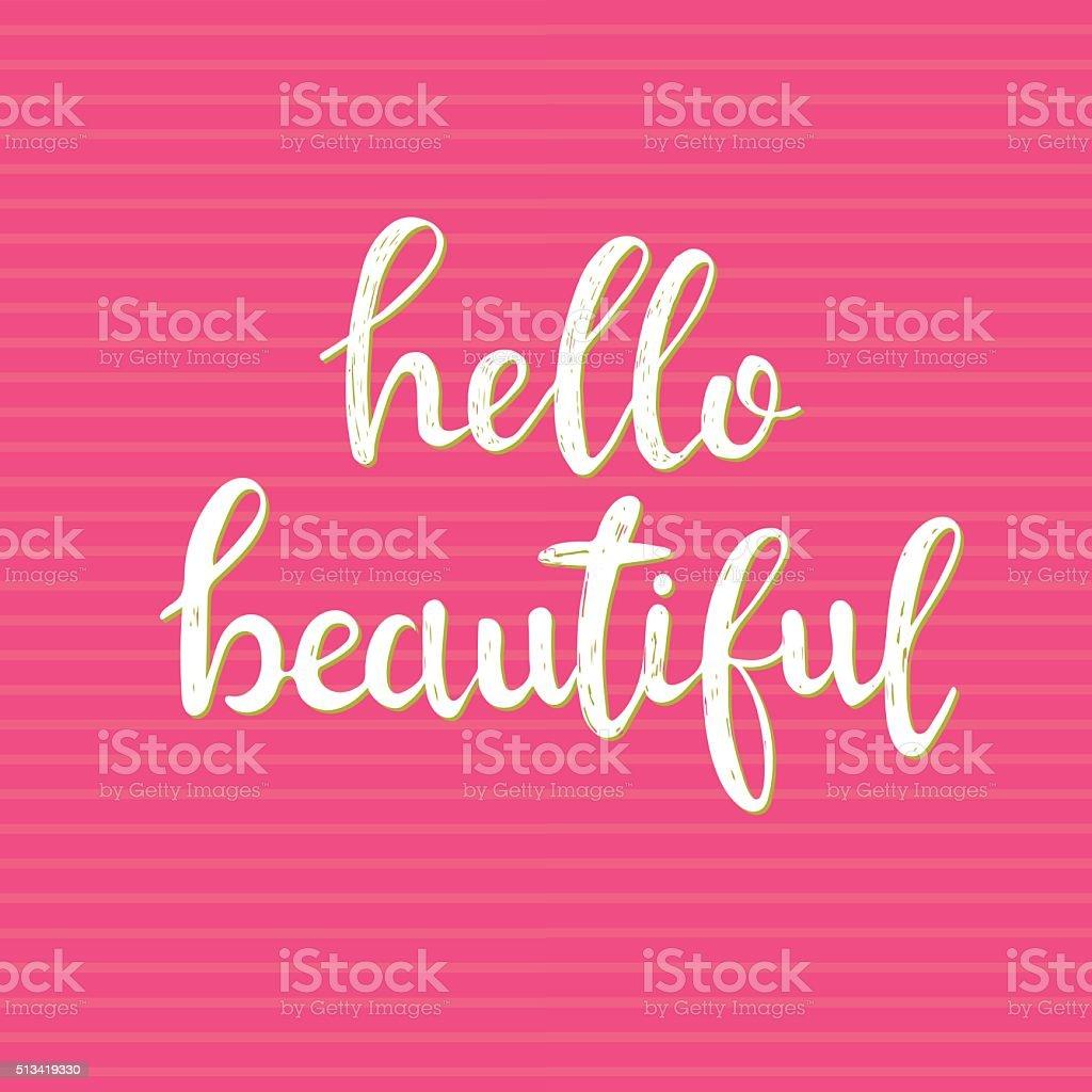 картинка привет красивая