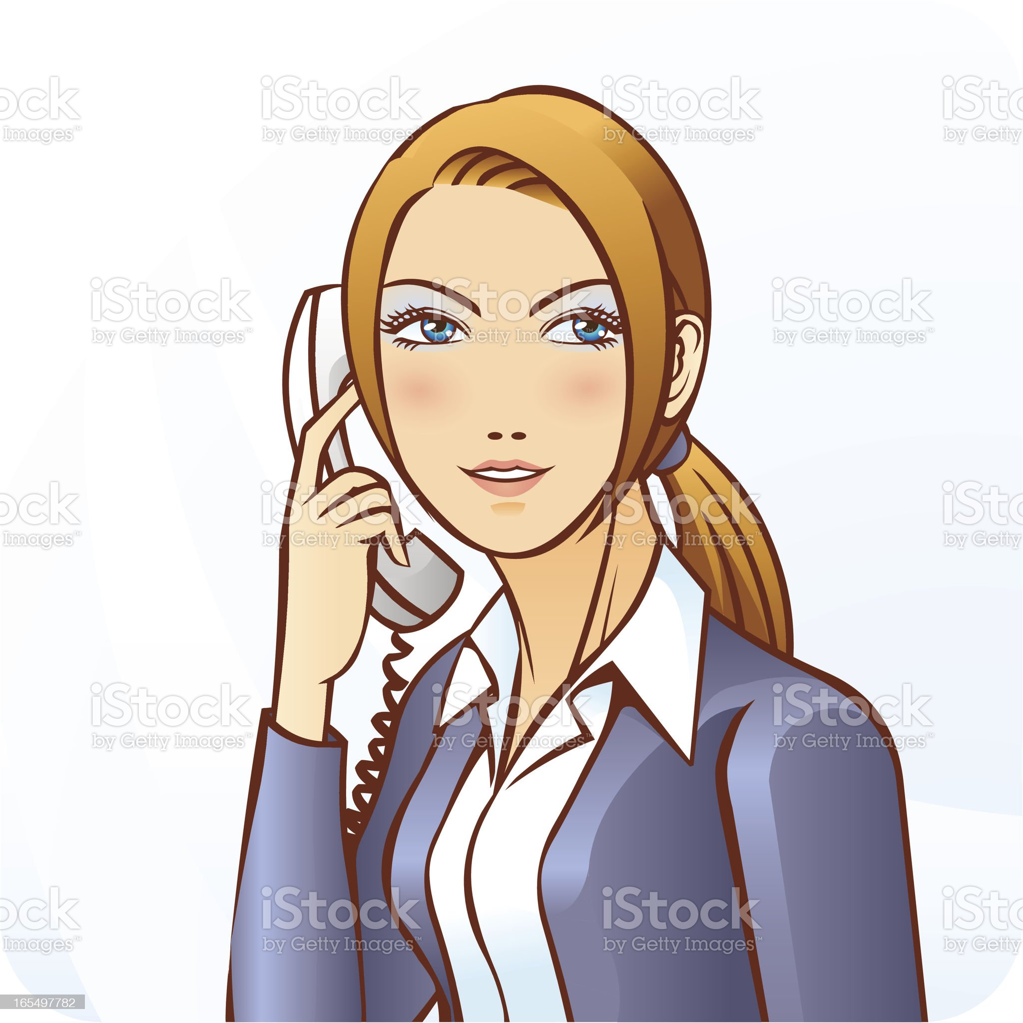 Hello! Can I help you? royalty-free stock vector art