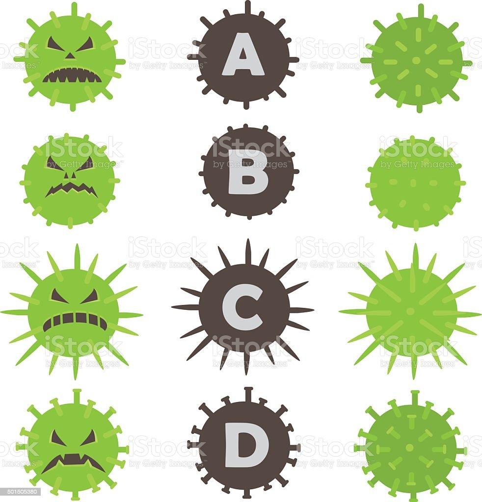 Hepatitis icon vector art illustration
