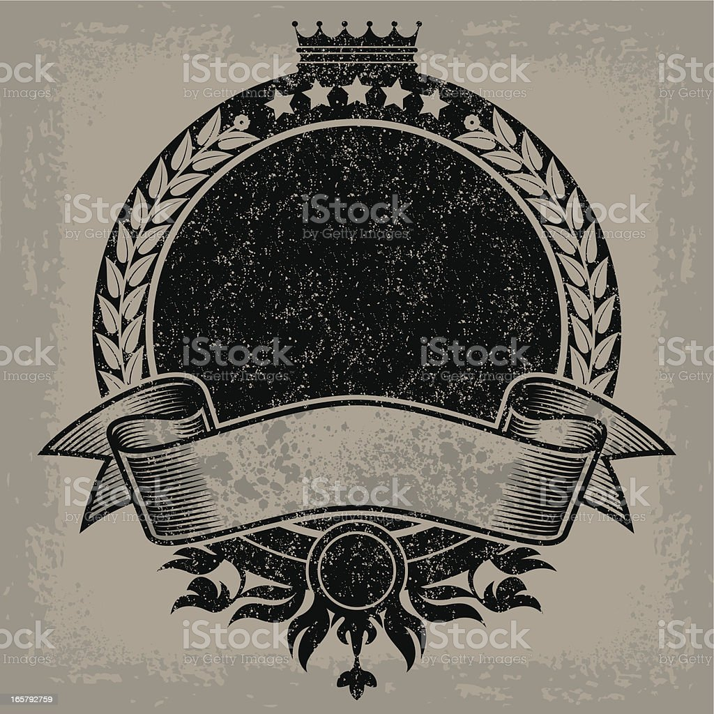 Herald Design royalty-free stock vector art