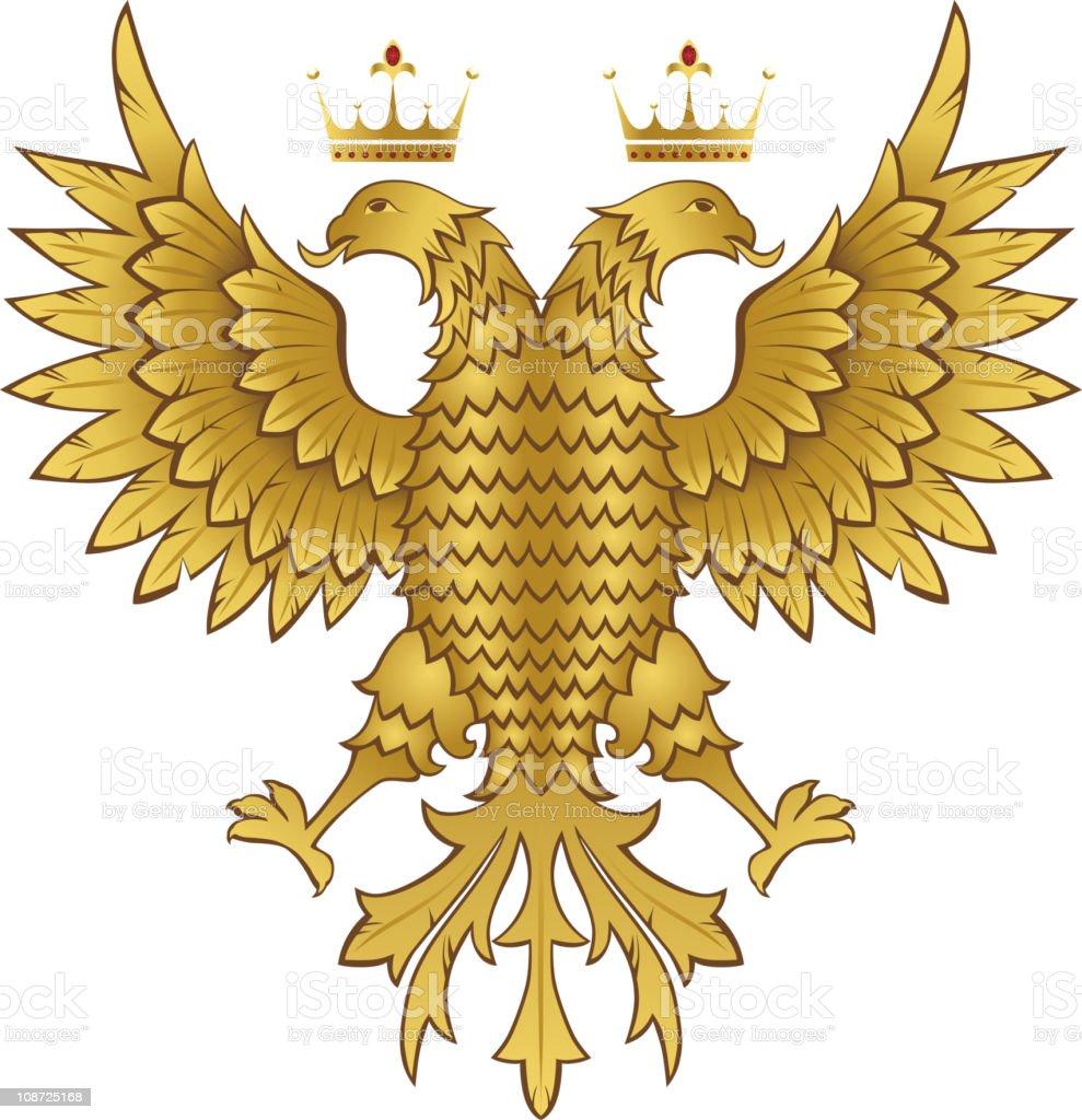 heraldic eagle royalty-free stock vector art