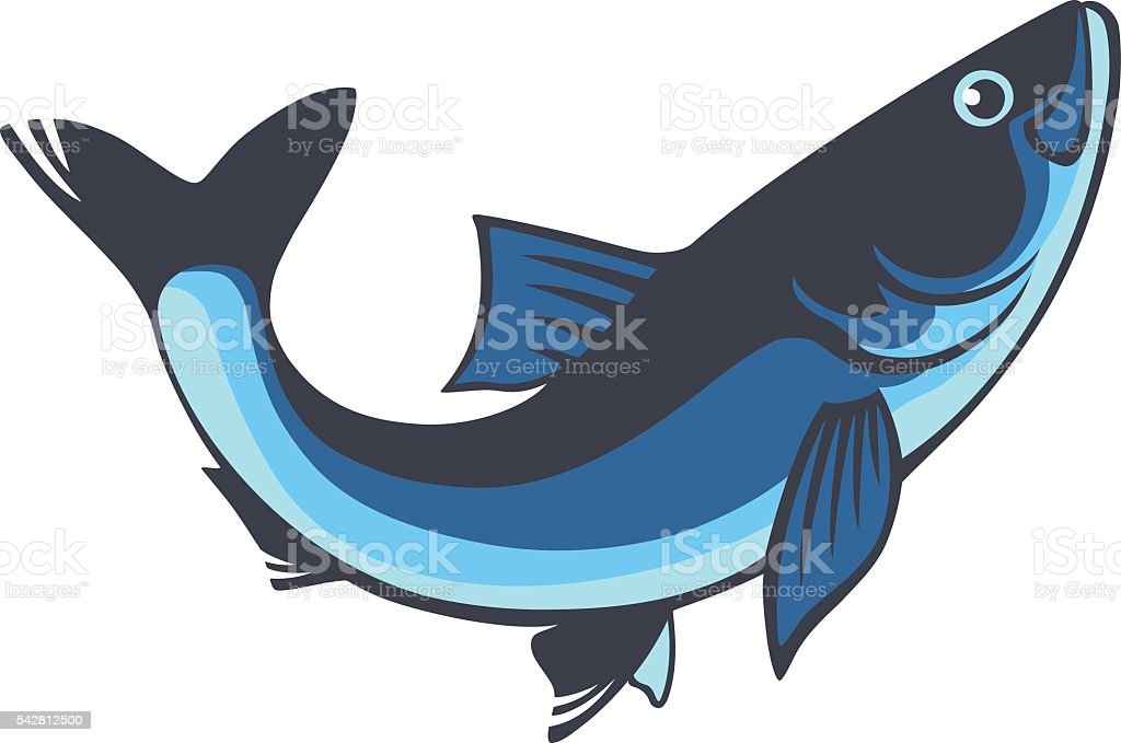 herring vector art illustration
