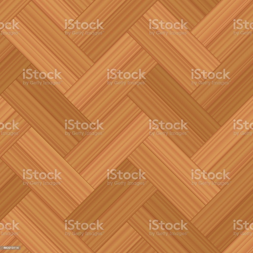 Herringbone parquet double row - vector illustration of a typical wooden flooring pattern - seamless extensible in all directions. vector art illustration