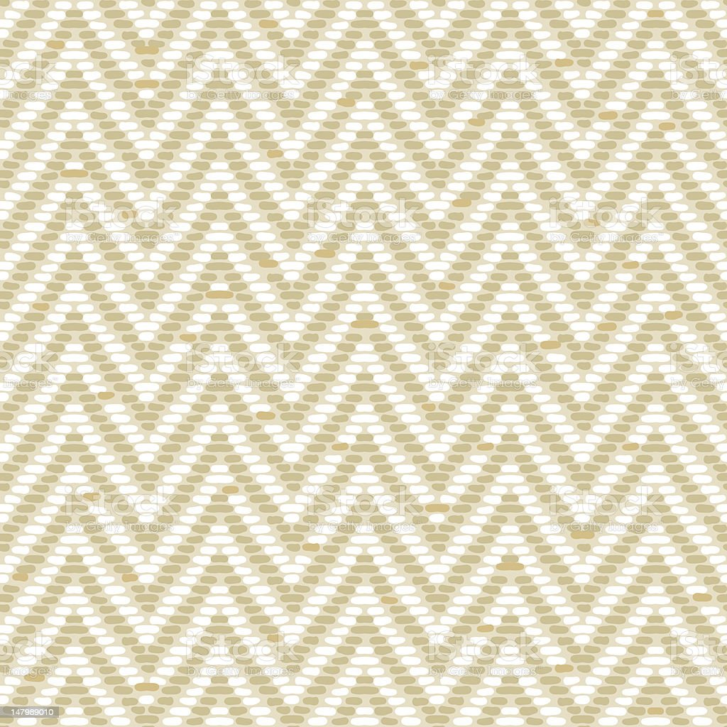 Herringbone Tweed pattern in earth tones repeats seamlessly. royalty-free stock vector art