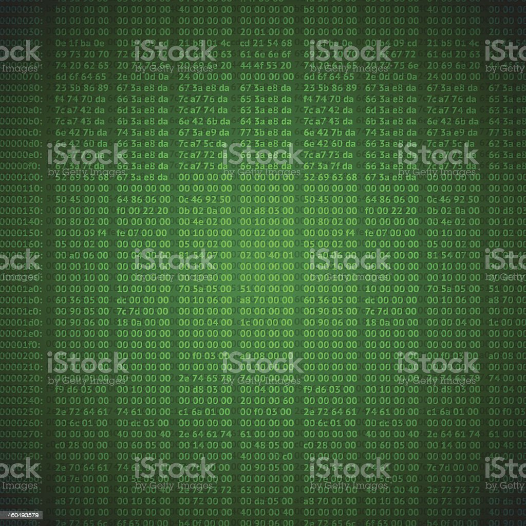 hex codes vector background vector art illustration