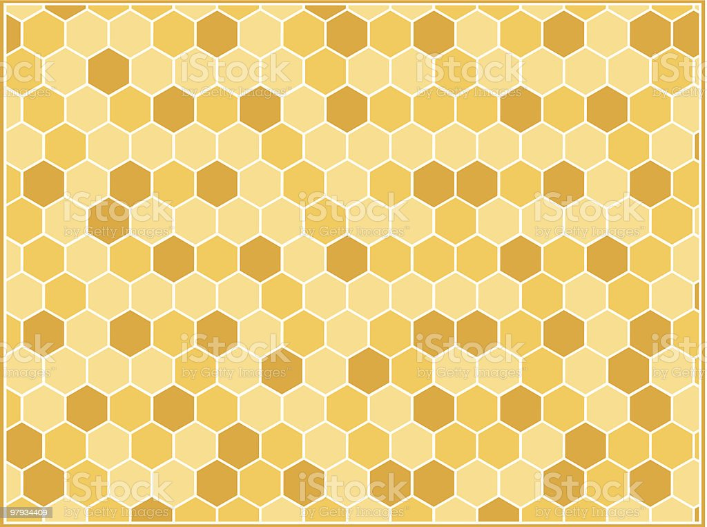 Hexagon background royalty-free stock vector art