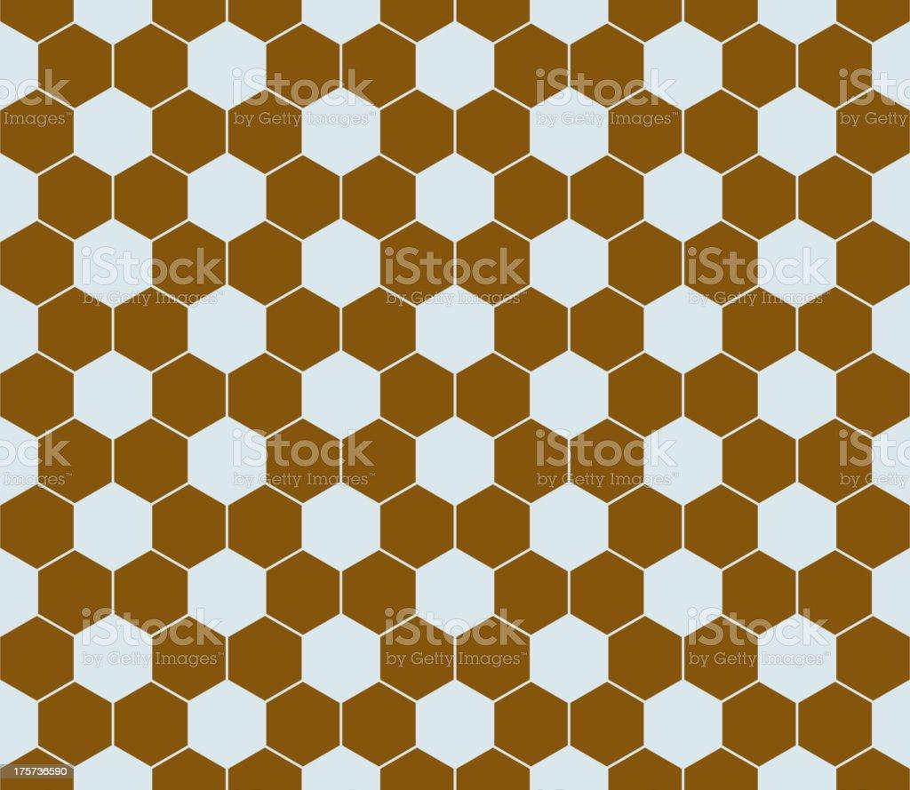 Hexagon pattern seamless. royalty-free stock vector art