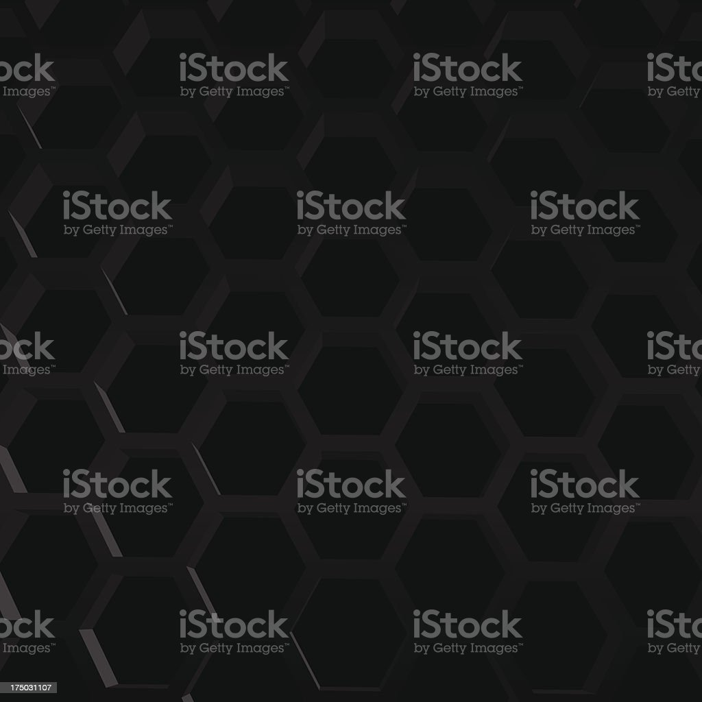 hexagon texture royalty-free stock vector art