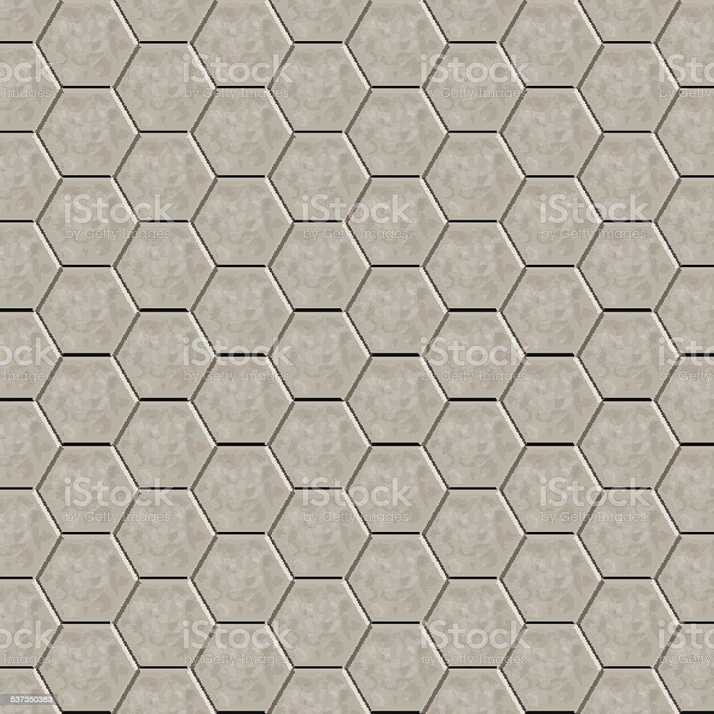 piso de baldosas hexagonal libre de derechos libre de derechos