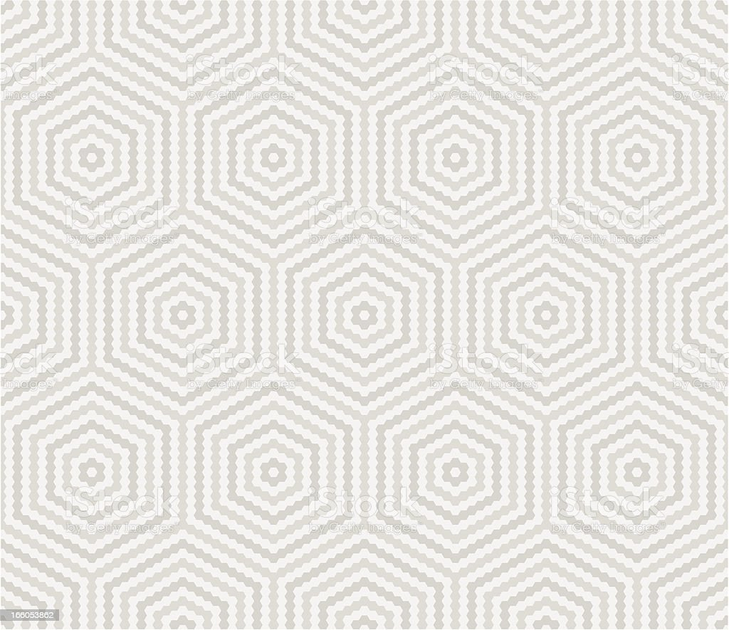 Hexagonal seamless pattern royalty-free stock vector art