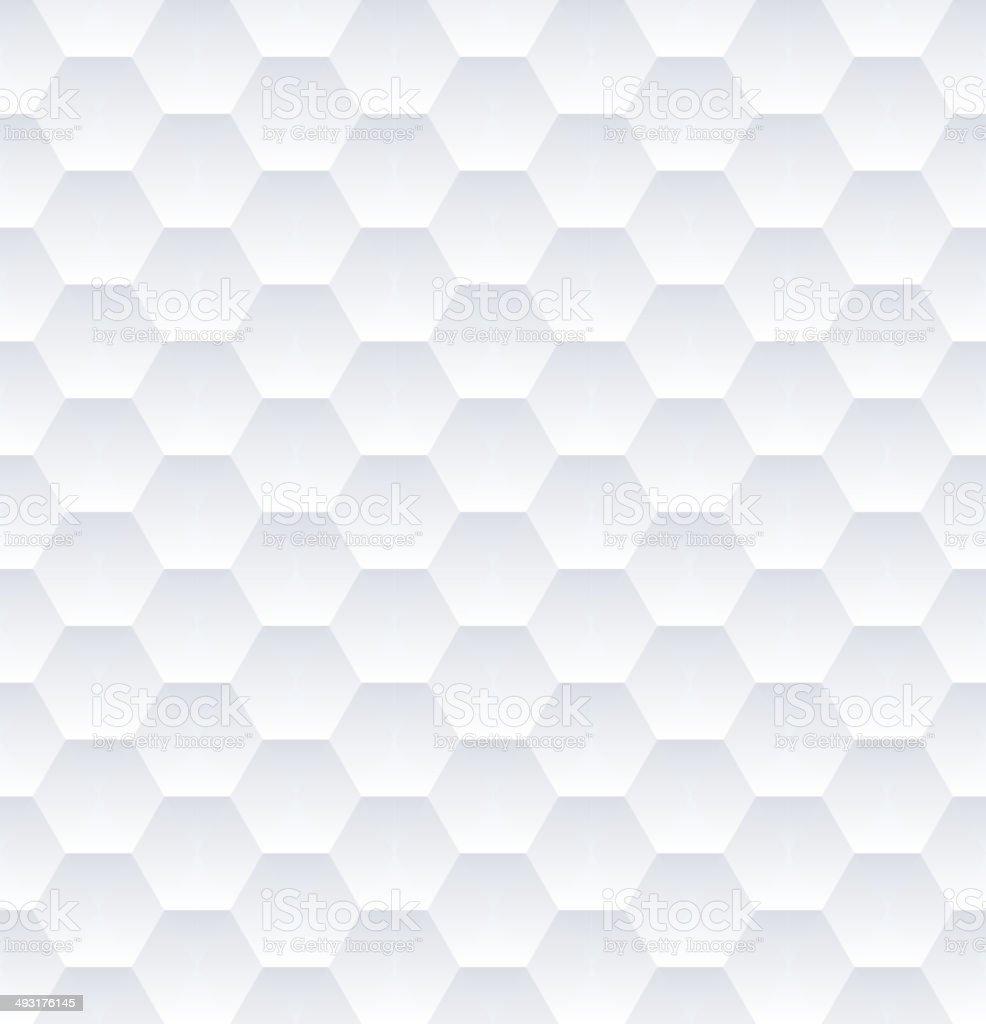 Hexagons Pattern vector art illustration