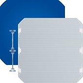 High efficiency flexible monocrystalline solar cell.