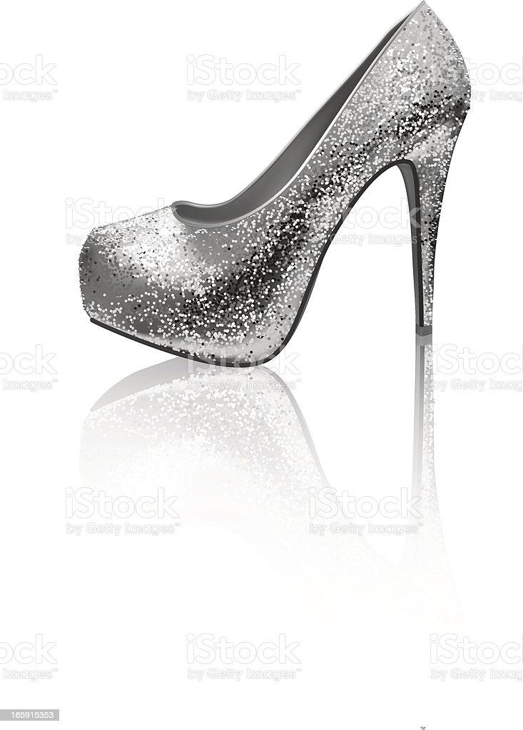 High Heel - Vector Illustration royalty-free stock vector art